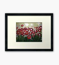 Whimsical Poppy Framed Print