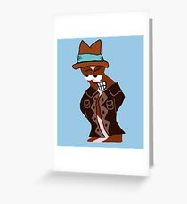 Bacon Gangster  Greeting Card