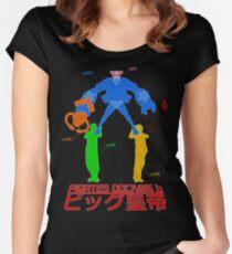 Tactics 15, Pirate Docking 6, BIG EMPEROR Women's Fitted Scoop T-Shirt