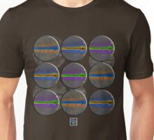 """Positron Cloud Chambers - COLORS""© Unisex T-Shirt"