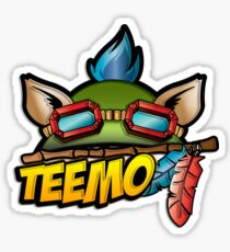 Captain Teemo  Sticker