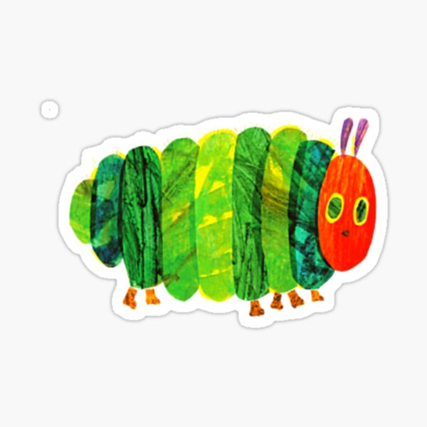 The Very Hungry Caterpillar For Kids Sticker