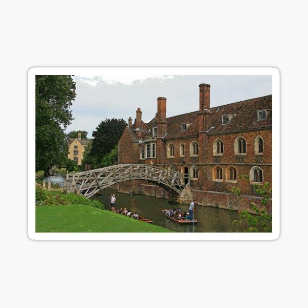 Mathematical Bridge, Cambridge Sticker