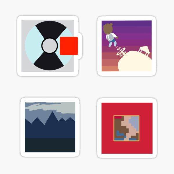 Albums de Kanye West Sticker