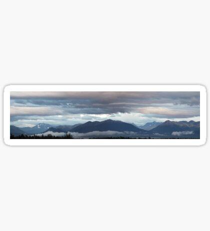 Alaskan Twilight Sticker
