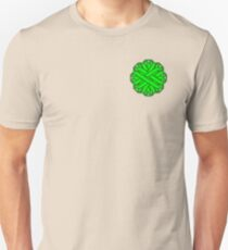 Lime Green Flower Ribbon Unisex T-Shirt