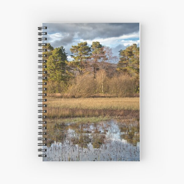Helensburgh Reservoir Spiral Notebook