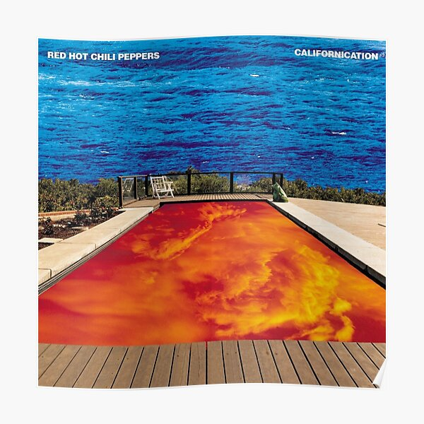 Californication RHCP Poster