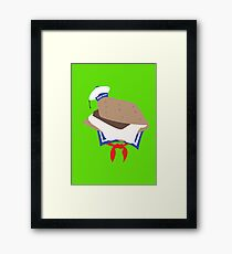 Stay Puft S'more Framed Print