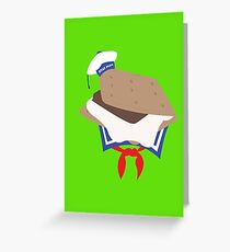 Stay Puft S'more Greeting Card