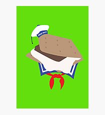 Stay Puft S'more Photographic Print