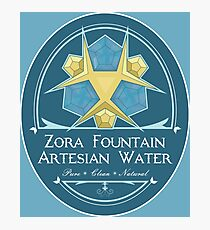 Hipsters of Hyrule - Zora Fountain Artesian Water Photographic Print