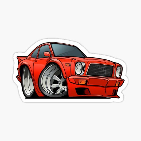 Mazda 808 Coupe Sticker