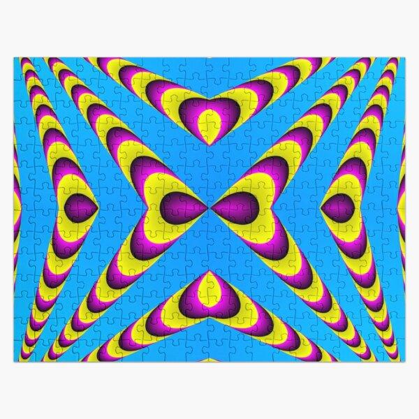Optical iLLusion, Triangle, 2D shape Jigsaw Puzzle