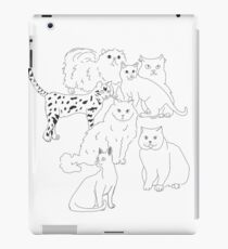 CATS iPad Case/Skin