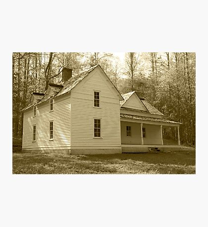 The Woody House Photographic Print
