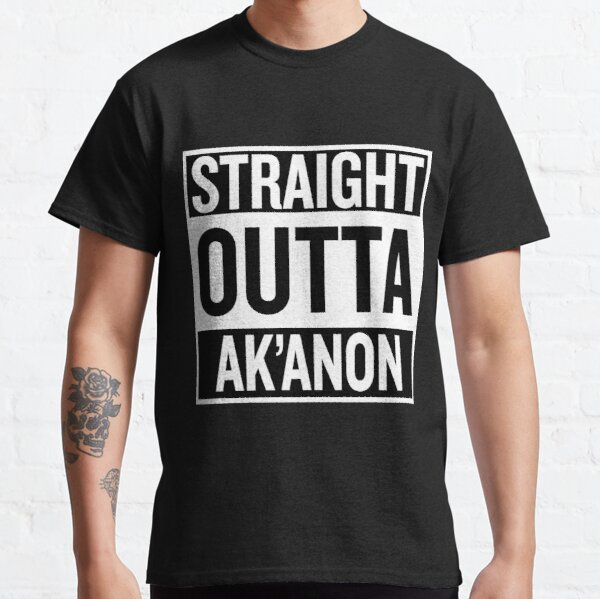 Getting out of Ak'Anon - Inverted Classic T-Shirt