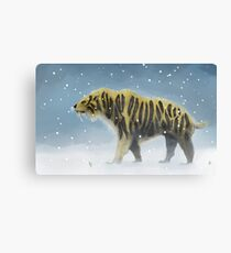 Saber-toothed tiger Canvas Print