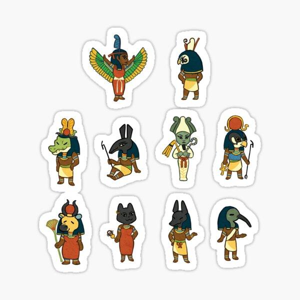 Egyptian Gods Sticker