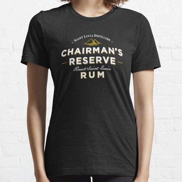 Reserva del presidente del mejor ron añejo Camiseta esencial