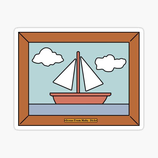 Scène Moby-Dick Sticker