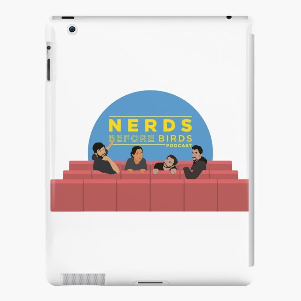 Nerds Before Birds Podcast iPad Snap Case
