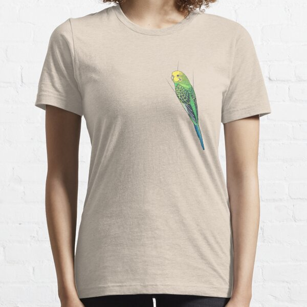 Opaline Green Budgie Essential T-Shirt