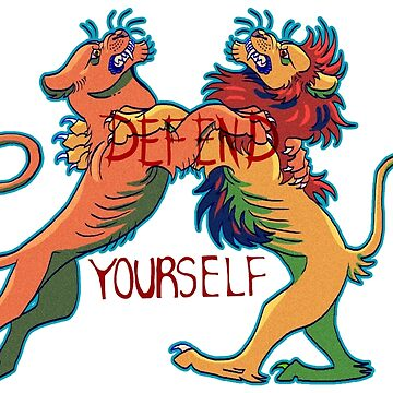Defend Yourself by EbeeThe1st