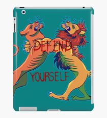 Defend Yourself iPad Case/Skin