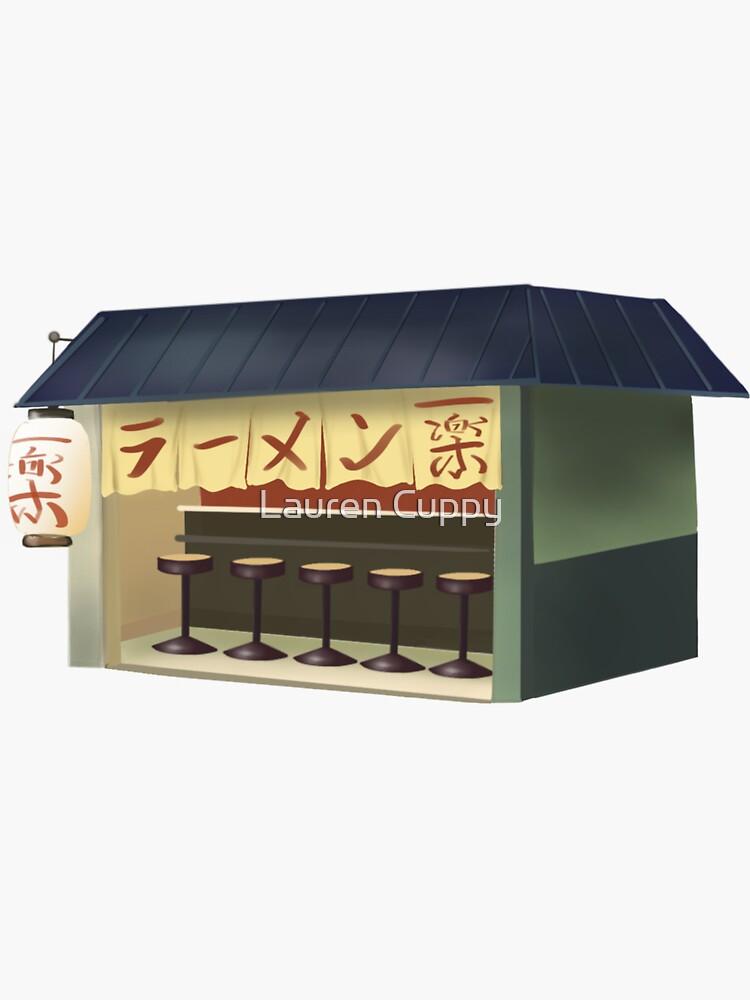 Ichiraku Ramen Shop by lcuppy