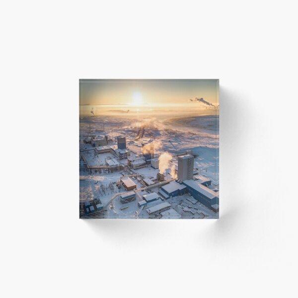 Norillag, Cityscape: Рудник «Скалистый» Acrylic Block
