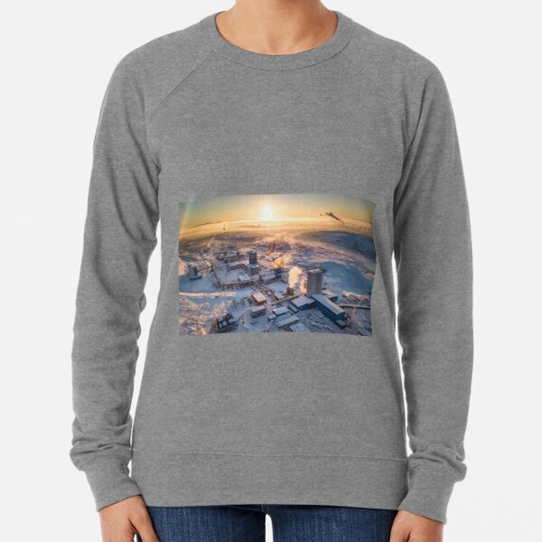 Cityscape: Рудник «Скалистый» Lightweight Sweatshirt