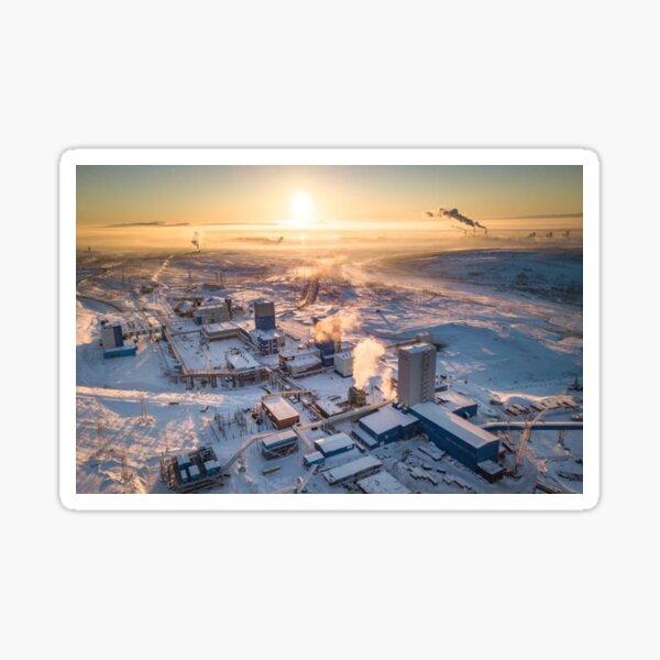 Cityscape: Рудник «Скалистый» Sticker