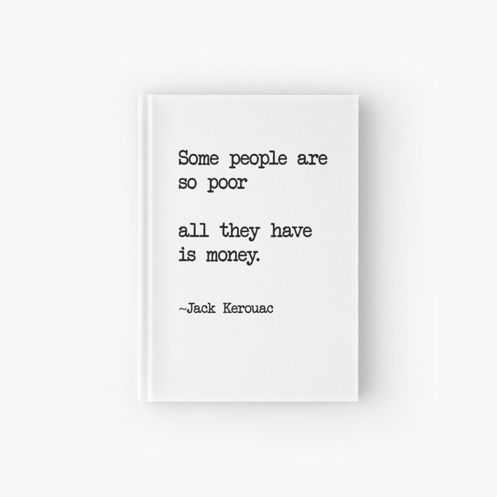 Jack Kerouac Quote | Hardcover Journal