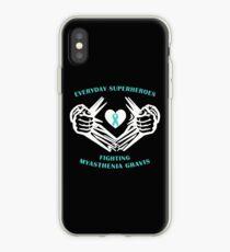 Myasthenia Gravis Heroes iPhone Case