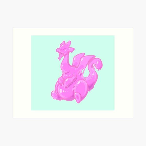 Slime Dragon Art Print