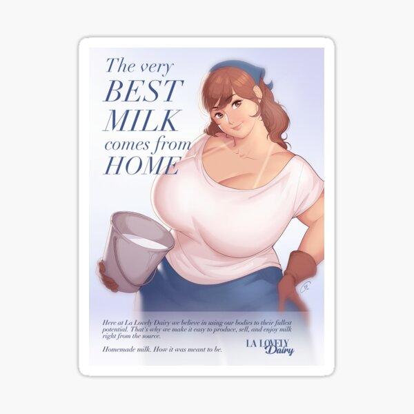 Dairy - The Very Best Milk... Sticker