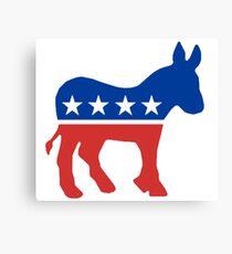 Democrat  Canvas Print