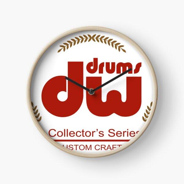 DW Drums Drum Workshop Collector's Series Red Clock