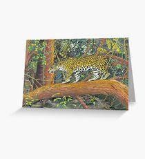 Jaguar Brazil Greeting Card