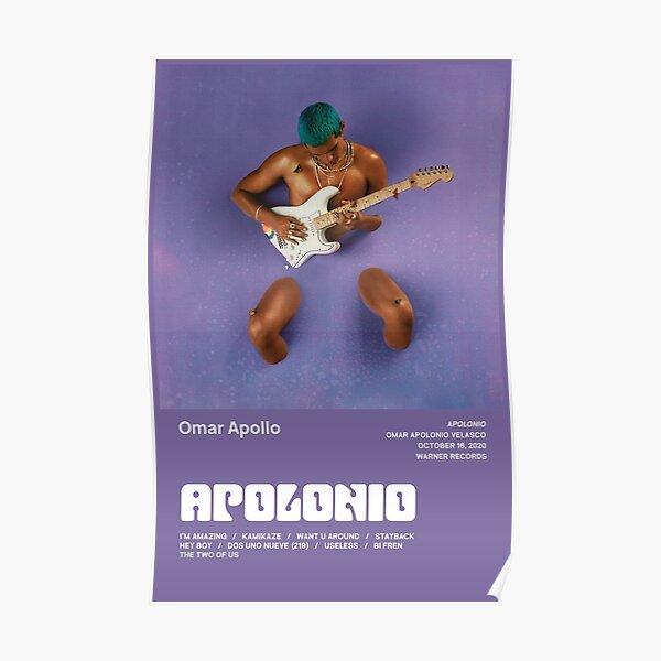 Omar Apollo - Apolonio Tracklist Poster
