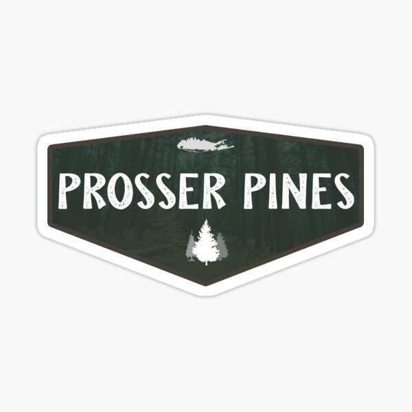Prosser Pines Sticker
