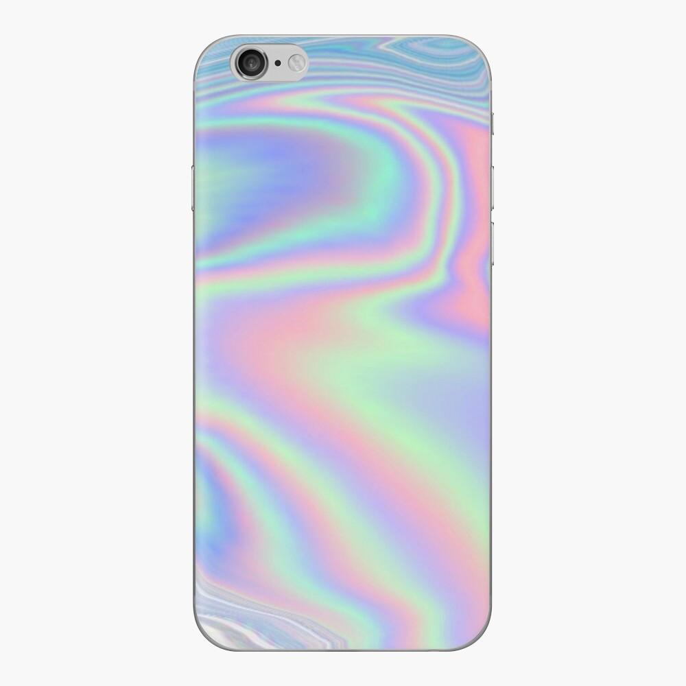 Holographische Reise iPhone Klebefolie