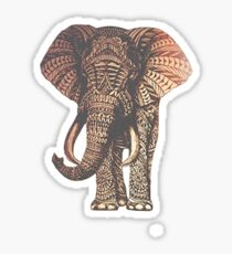Faded elephant Sticker