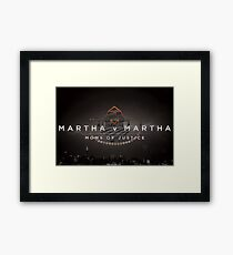 Martha Framed Print