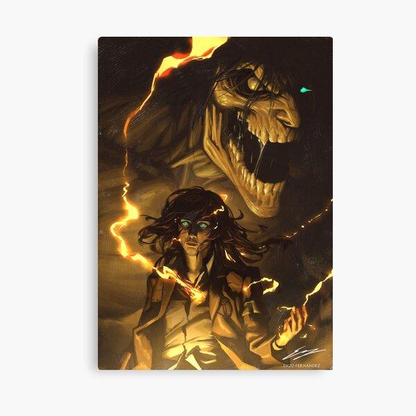Eren Jaeger - Declaration of War Canvas Print