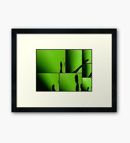 Some Days You Exist Framed Print