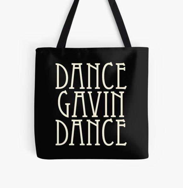 Dance Gavin Dance All Over Print Tote Bag