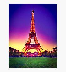 E tower Photographic Print