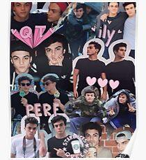 Dolan twins collage Poster